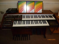 Wersi Prisma Organ plus Expander , software & all manuals etc. Pristine condition & fully working