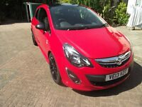Vauxhall Corsa 1.2 Limited Edition. 2013. Mot Aug 2017 .Part exhange possible