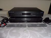 Cambridge Audio Azur 650T Dab Tuner & 650C CD player - Great Sound