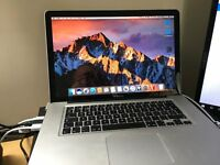 "MacBook Pro 15"" 2.3 GHz i7 8 GB 2012 SUPERB !!"