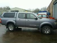 Ford ranger 2007 4x4 2.5 tdci NO VAT!!! Will put years m.o.t on car