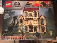Jurassic World Lego 75930 - Indoraptor Rampage at Lockwood Estate - Brand new sealed item.