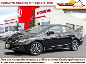 2015 Honda Civic Sedan EX - One of the Safest Cars in its Class