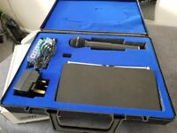 Transtec Systems Single Non Diversity Wireless Microphone in it's own case