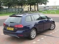 Volkswagen Golf SE NAVIGATION TDI BLUEMOTION TECHNOLOGY (blue) 2017-06-29