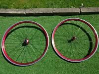 Light road wheels