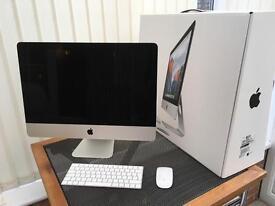 Apple iMac 21.5 inch Retina 4K 3.1 GHZ Quad i5 8GB/1TB. Turbo boost up to 3.6GHZ.