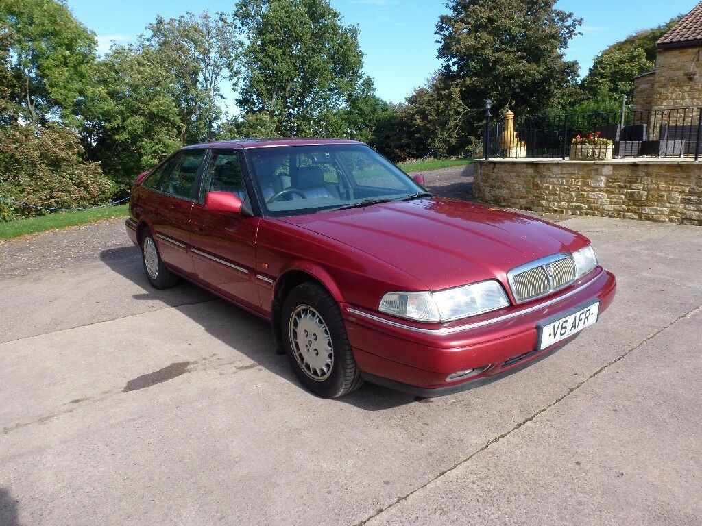 Rover 825 2.5L V6 Auto with interesting number plate