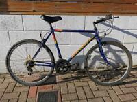 Unisex medium hybrid bicycle for sale