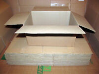 20 Cardboard Packing Boxes Single Wall Boxes 37x29x18.5cm