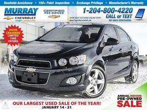 2016 Chevrolet Sonic LT Auto *Rear View Camera, Heated Seats*