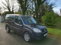 2008 FIAT DOBLO MOBILITY ADAPTED WHEEL CHAIR VEHICLE