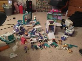 Animal hospital toy set