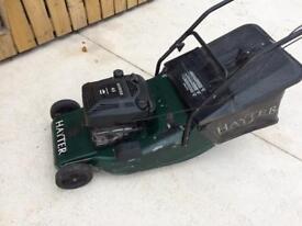 Hayter Harrier self propelled roller lawnmower mower.