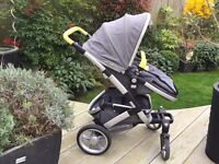 Custom Made Joolz Geo Day Pram with BRAND NEW carry cot still in original packaging