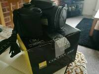 Nikon Coolpix B500 for sale used 2 times only, with box