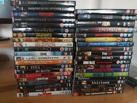 40 DVD's for sale - mixed genre - excellent titles.