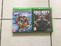 Unwanted gifts. Just cause 3 & COD black ops 3