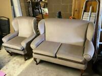 2 and 1 seater sofa