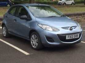 MAZDA 2 2013 (13 REG)*£2999*LOW MILES*5 DOOR*MANUAL*CHEAP CAR TO RUN*PX WELCOME*DELIVERY