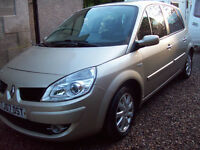 2006 RENAULT SCENIC dyn dci 1.5 DIESEL. **NEW M O T ** 10th AUGUST **