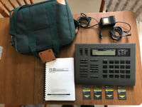 Roland R-8 Human Rhythm Composer Drum Machine w/ Power Adapter + Sound Cards + Case