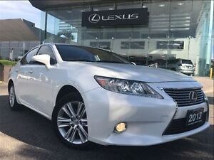 2013 Lexus ES 350 1 Owner Navi Backup Cam Leather Sunroof