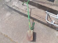 Auto spade i very good condition save all that back ache