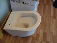 WALL HUNG TOILET - VICTORIA PLUMB ARC - ABSOLUTELY NEW