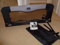 BabyDan Sleep-n-Safe Bedrail (Black)