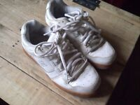 Great DC white trainers. Size 7.5