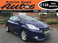 2015 PEUGEOT 208 ACTIVE 1.2 ** AUTOMATIC ** LOW RATE FINANCE AVAILABLE WITH NO DEPOSIT