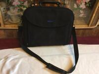 Dell shoulder laptop bag black Ex condition £10