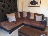 Free corner sofa MUST COLLECT 3 year old
