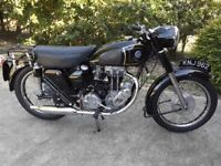 AJS 1955 350 cc 16MS EXCEPTIONAL CONDITION, JAMPOT MODEL