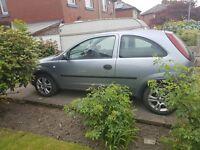 Cheap 1.2 corsa 3 door good condition no MOT