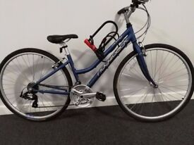 Ladies hybrid Ridgeback Motion Rapide (hardly used) with ALL accessories £250 ONO