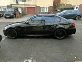 BMW 320 D M Sport E90 57 Plate 78k Miles Black Leather