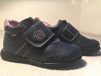 Pablosky leather shoes size 9(UK baby size) 27(european)