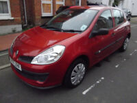 RENAULT CLIO 1.2 AUTHENTIQUE 2007 5 DOOR GENUINE 58000 MILES