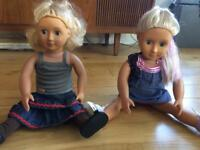 Our Generation Dolls - Lily Anna and Layla