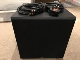 Monitor Audio MRW10 Powered Subwoofer in Black Colour