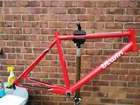 audax / light tourer / winter small road bike frame btwin triban 3