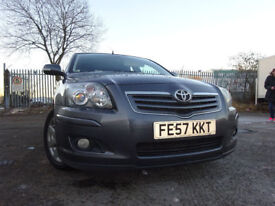 57 TOYOTA AVENSIS T3-X- 1.8,MOT DEC 018,2 OWNERS FROM NEW,11 STAMP HISTORY,2 KEYS,STUNNING CAR