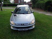 2007 Peugeot 206 SW 1.4 Verve 5dr Estate [1 OWNER+NEW CLUTCH+CAM BELT+FSH]