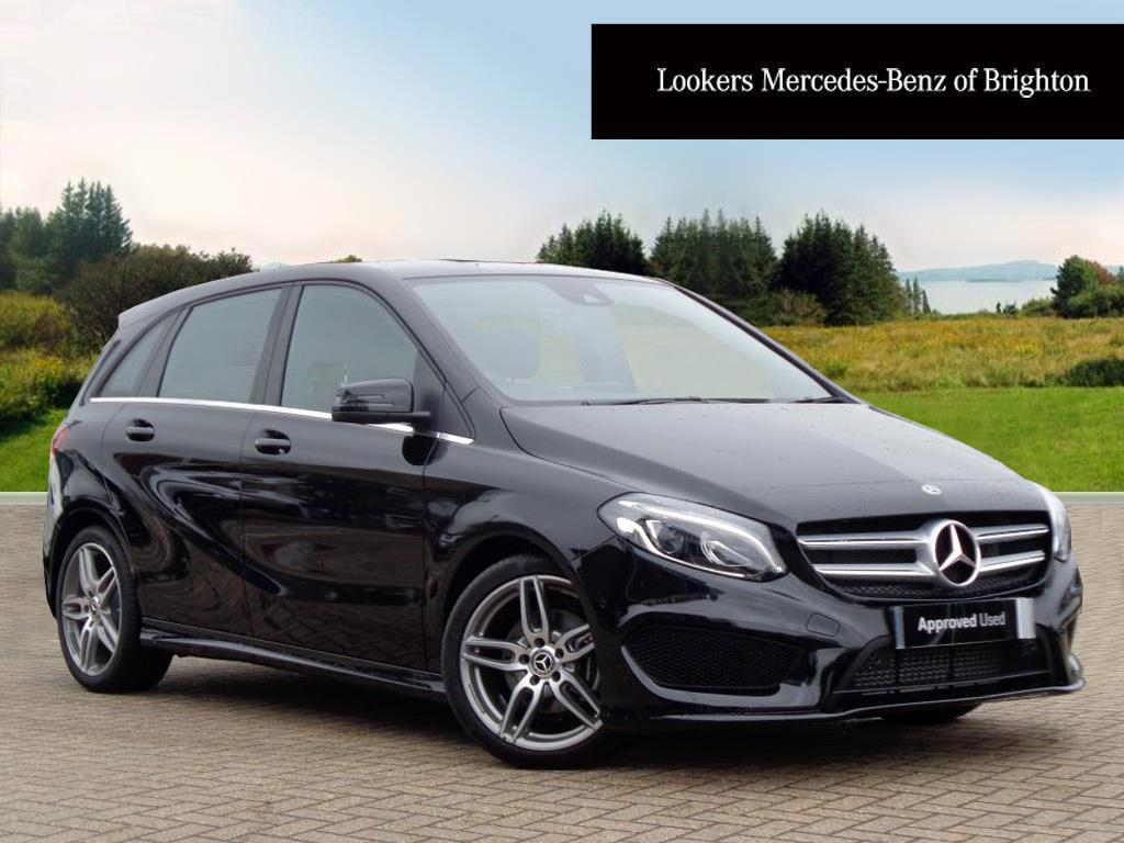 mercedes benz b class b 180 d amg line premium black 2018 03 26 in portslade east sussex. Black Bedroom Furniture Sets. Home Design Ideas