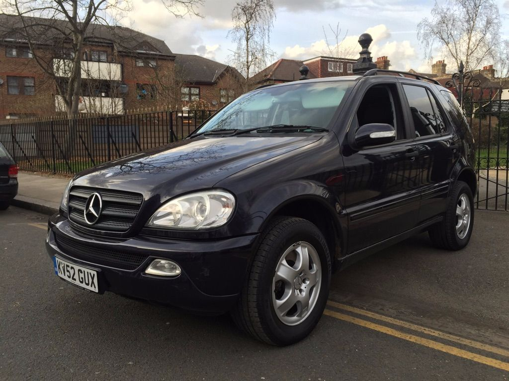 2002 mercedes benz ml 270 cdi 7 seater 4x4 diesel automatic full service history good. Black Bedroom Furniture Sets. Home Design Ideas