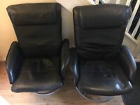 2 Reclining Office Chairs