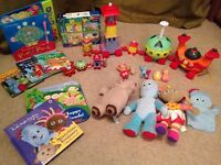 In the night garden bundle- good condition from non smoking home