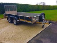 Ivor Williams plant trailer/builders